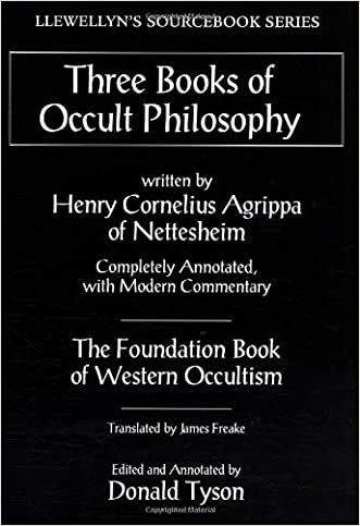 Three Books of Occult Philosophy (Llewellyn's Sourcebook) written by Henry Cornelius Agrippa