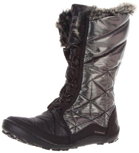 Columbia Women's Minx Mid Flash Snow Boot,Black,12 M US