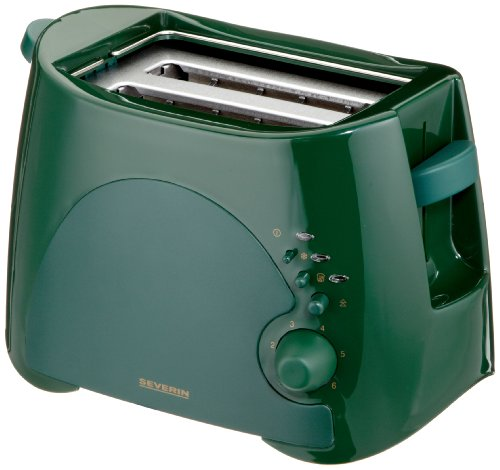 SEVERIN AT 2551 - GRILLE PAIN AUTOMATIQUE - 900 W - VERT MOUSSE