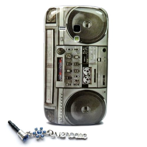 Old Player Design Hard Skin Case Cover For Samsung Galaxy S3 Iii Mini I8190