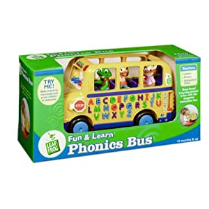 Leapfrog Fun and Learn Phonics Bus