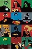 (22x34) Justice League - Minimalist Comic Television Poster