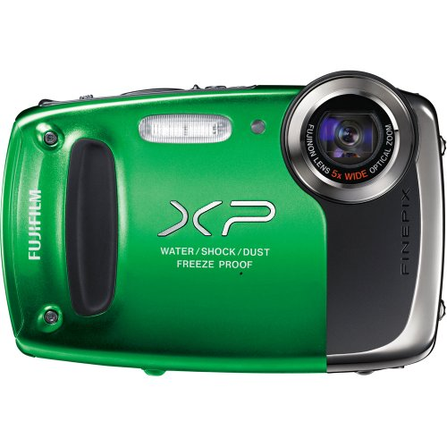 Fujifilm FinePix XP50 Digital Camera (Green) Picture
