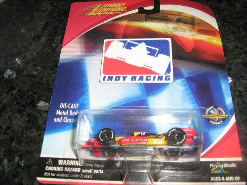 Playing Mantis Johnny Lightning Indy Racing Die-Cast Metal Body and Chasis ITEM #402-11(2000 Indy Racing Schedule) - 1