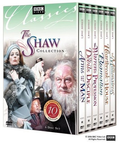 The Shaw Collection (Pygmalion / The Millionairess / Arms and the Man / The Devil's Disciple / Mrs. Warren's Profession / Heartbreak House)