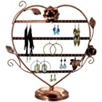 Generic Copper Color Heart-Shaped Wit...