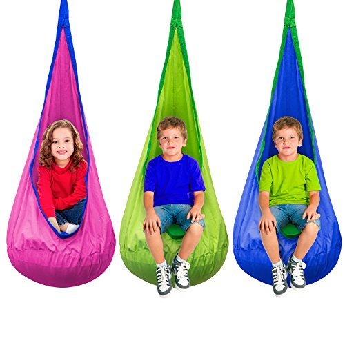 Sorbus-Kids-Child-Pod-Swing-Chair-Nook-Tent-  sc 1 st  Discount Tents Nova & Sorbus® Kids Child Pod Swing Chair Nook Tent u2013 Hanging Seat ...