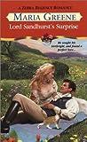 img - for Lord Sandhurst's Surprise (Zebra Regency Romance) book / textbook / text book