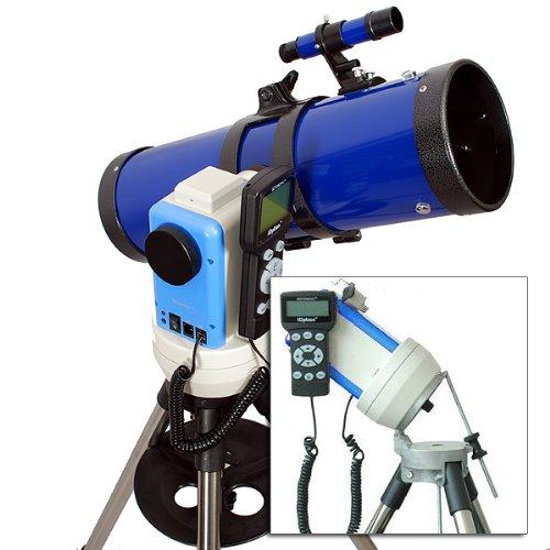 "Twinstar Blue 6"" Ioptron Computerized Gps Equatorial Reflector Telescope"