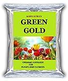 Agro Aura (Green Gold) Organic Fertilizer Original Plant Bio Fertilizer For Vegetables Flowers Rose Fruits 2.4 Kg