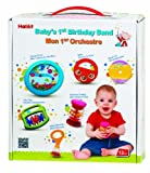 Enlarge toy image: Halilit Babys First Birthday Band Musical Instrument Gift Set - infant and baby development