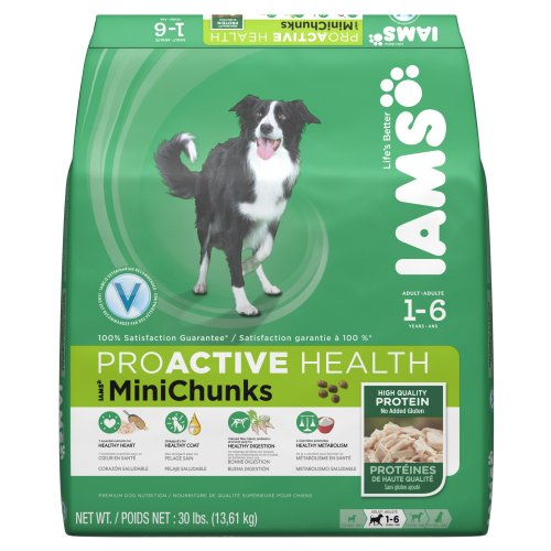 Iams Proactive Health Adult Minichunks Premium Dog Nutrition 30 Lbs