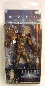 Alien VS. Predator: Requiem NECA Action Figure Series 4 Battle Damaged Masked Predator