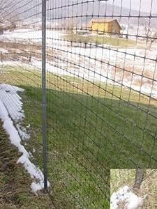 Deer Fence Kit: Large Garden Enclosure 7.5 ft x 330 ft
