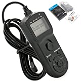 JJC TM-B Timer Remote Control for Nikon D300/D300S/D700/D800/D800E/MC-30