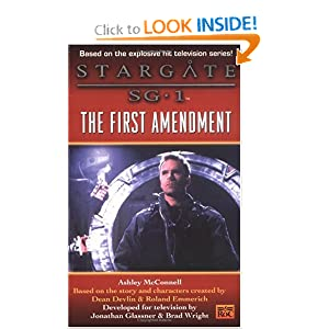 Stargate SG-1: The First Amendment by Ashley McConnell