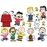Peanuts(R) Classic Characters 2-Sided Deco Kit - Includes Multiple Full Color Double-Sided Pieces. Sizes Range From 2