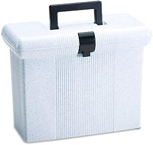 Pendaflex PortFile File Box, Letter Size, Granite, 1 Each (41737)