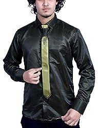 Bucci Men's Casual Shirt _bc109_Black_L