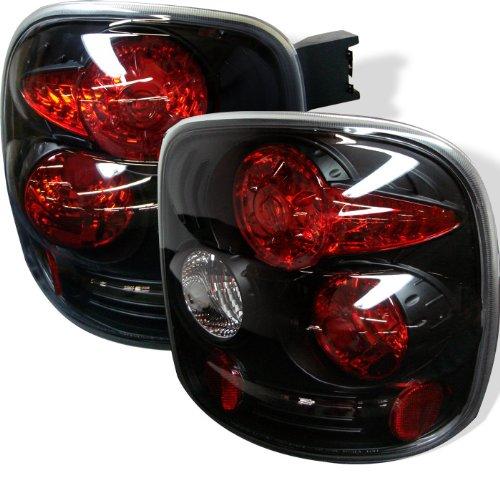 Rxmotoring 1999-2004 Chevy Silverado Stepside Tail Lights + 8 Led Bumper Fog Lamp (Stepside Silverado Taillights compare prices)