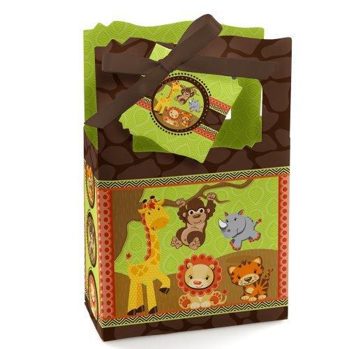 Funfari - Fun Safari Jungle - Party Favor Boxes (set of 12) (Safari Baby Shower Favors compare prices)