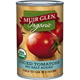 Muir Glen Organic Diced Tomatoes, No Salt, 14.5-Ounce Cans (Pack of 12) ~ Muir Glen