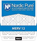 Nordic Pure 20x25x5 Honeywell Replacement AC Furnace Air Filters