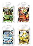 ポケモンカードゲーム バトルスタートデッキ 4種アソート 各3個入り(ドダイトス 、ブーバーン 、カメックス、ライチュウ) BOX
