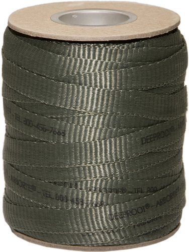 DeepRoot Arbortie Staking and Guying Material, 250-Feet Roll, Olive