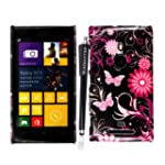 For Nokia Lumia 925 New Butterfly Pri...