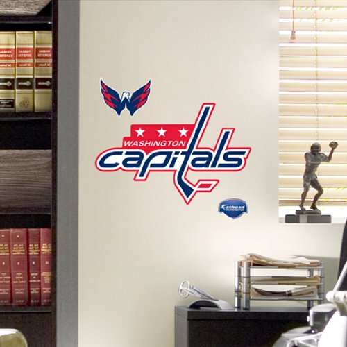 NHL Washington Capitals Fathead Logo