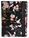 Accessorize Fashion Universal Folio Case Cover with Built-In Stand for 10 Inch Tablet Compatible with iPad 2/3/4, iPad with Retina display, Samsung Galaxy Tab 2 10.1, Tab 3 10.1 and Note 10.1, Google Nexus 10 and Sony Xperia Tablet Z - Birds