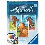 Ravensburger Aquarelle Horses Arts And Crafts Kit