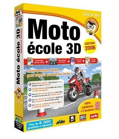 Moto école 3D - édition 2006