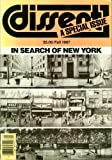img - for Dissent: In Search of New York (Special Issue) (Fall 1987) book / textbook / text book