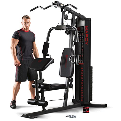 Marcy Eclipse HG3000 Compact Home Gym - 68kg Weight Stack   21...