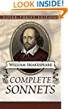 Complete Sonnets (Dover Thrift Editions)