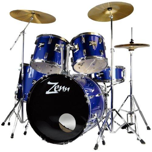 ZENN ドラムセット ZDS3000II METALLIC BLUE(メタリックブルー)