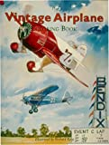 The Vintage Airplane: Coloring Book and Crayons