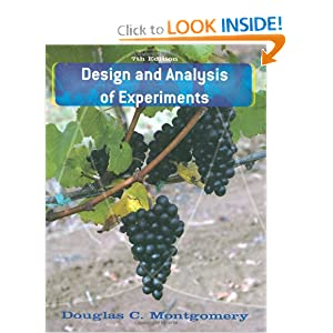 Design And Analysis Of Experiments C Montgomery Pdf
