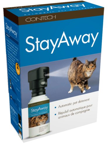 Contech Electronics Inc Stayaway Auto Pet Deterren Warning Sound Motion Sensor AAA Batteries