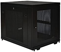 Tripp Lite 12U Rack Enclosure Server Cabinet, Mid Depth, 32.5