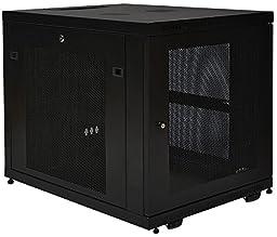 Tripp Lite 12U Rack Enclosure Server Cabinet, Mid Depth, 32.5\