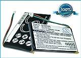 Battery for Garmin Nuvi 765T, 3.7V, 1250mAh, Li-pl
