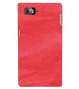 PrintVisa Red Canvas Paper Design 3D Hard Polycarbonate Designer Back Case Cover for Lenovo Vibe Z2 Pro K920