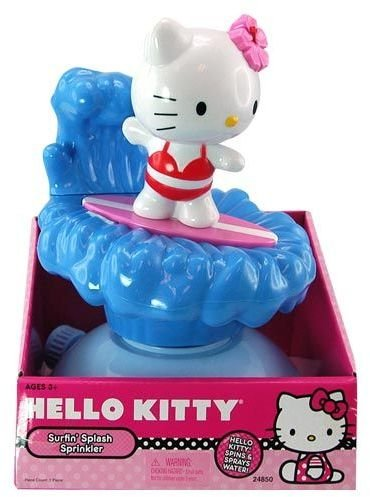 DDI 1471998 Hello Kitty Surfin Sprinkler Kids Water Toy Case Of 6 - 1