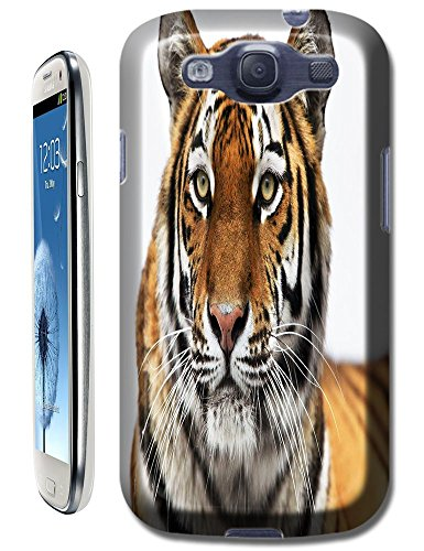Lovely Power Tigers Cases Covers Phone Hard Back Cases Beautiful Nice Cute Animal Hot Selling Cell Phone Cases For Samsung Galaxy S3 # 10 front-589277