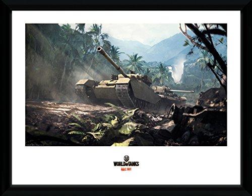 GB eye LTD, World of Tanks, Forest Tanks, Foto incorniciata, 40 x 30 cm