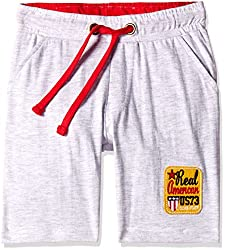 Cherokee Boys' Shorts (267977646_Grey Melange _7 - 8 years)