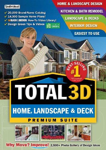 Total 3D Home, Landscape & Deck V11  [Download] (Total 3d Home Design Software compare prices)